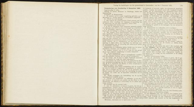 Raadsverslagen van de gemeente Leeuwarden, 1865-2007 (Notulen) 1880-12-09