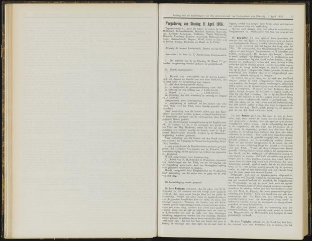 Raadsverslagen van de gemeente Leeuwarden, 1865-2007 (Notulen) 1905-04-11