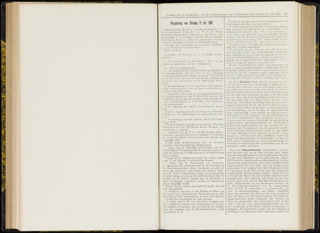 Raadsverslagen van de gemeente Leeuwarden, 1865-2007 (Notulen) 1916-07-11
