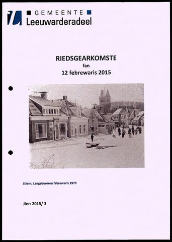 Notulen van de gemeenteraad van Leeuwarderadeel 2015-02-12