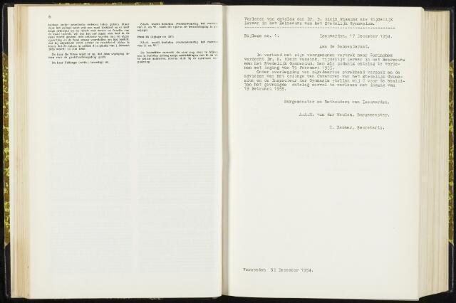 Raadsverslagen van de gemeente Leeuwarden, 1865-2007 (Bijlagen) 1955-01-01
