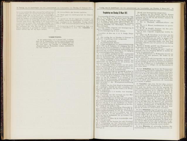 Raadsverslagen van de gemeente Leeuwarden, 1865-2007 (Notulen) 1917-03-13