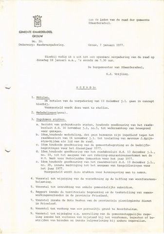 raadsverslagen Idaarderadeel 1935-1983 1977
