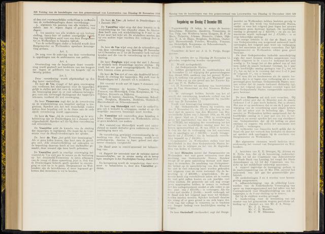 Raadsverslagen van de gemeente Leeuwarden, 1865-2007 (Notulen) 1916-12-12