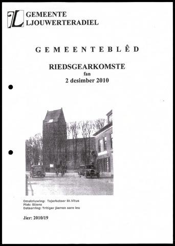 Notulen van de gemeenteraad van Leeuwarderadeel 2010-12-02