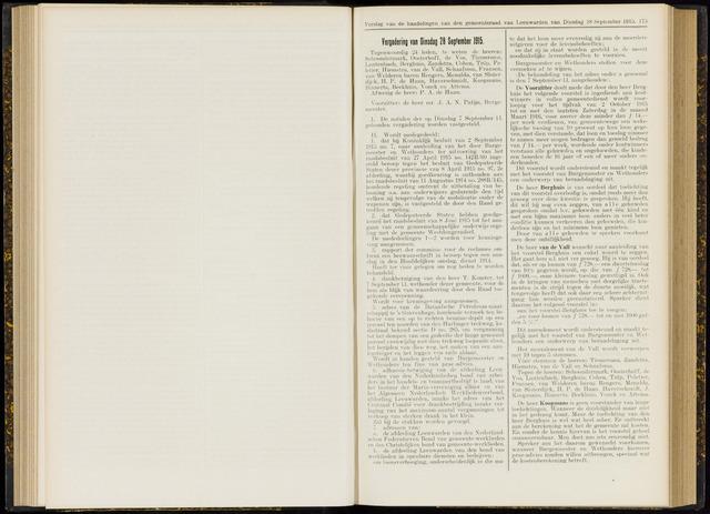 Raadsverslagen van de gemeente Leeuwarden, 1865-2007 (Notulen) 1915-09-28