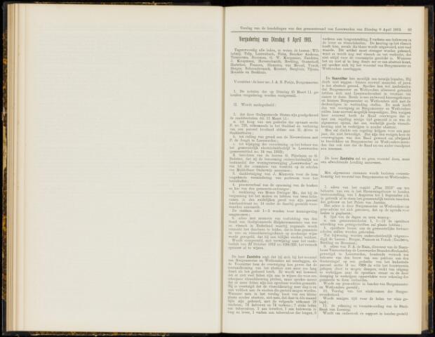 Raadsverslagen van de gemeente Leeuwarden, 1865-2007 (Notulen) 1913-04-08