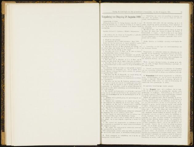 Raadsverslagen van de gemeente Leeuwarden, 1865-2007 (Notulen) 1888-08-28