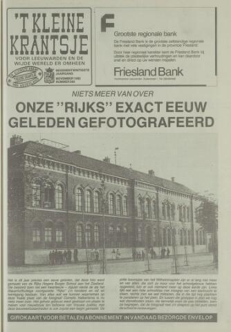 't Kleine Krantsje, 1964-1997 1992-11-01