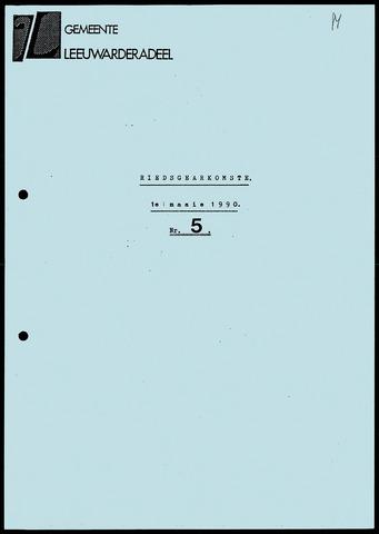 Notulen van de gemeenteraad van Leeuwarderadeel 1990-05-01