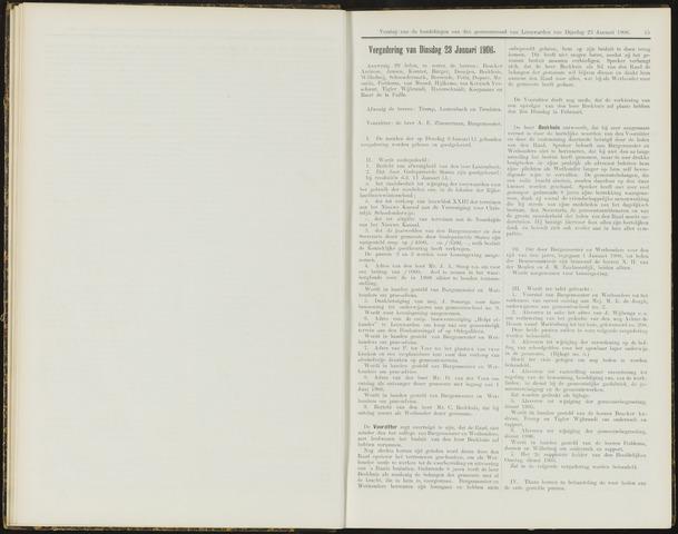 Raadsverslagen van de gemeente Leeuwarden, 1865-2007 (Notulen) 1906-01-23