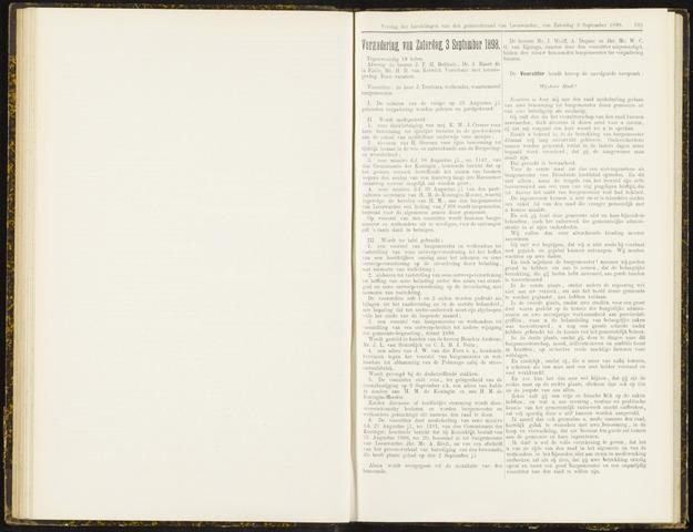 Raadsverslagen van de gemeente Leeuwarden, 1865-2007 (Notulen) 1898-09-03