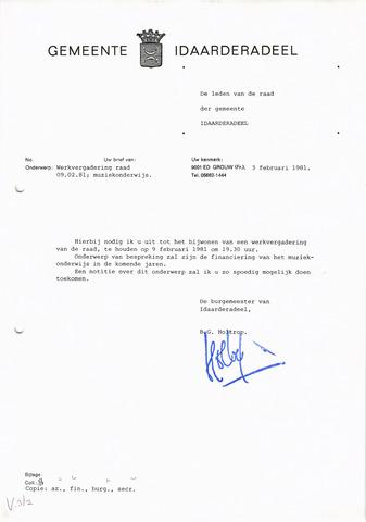 raadsverslagen Idaarderadeel 1935-1983 1981-02-09