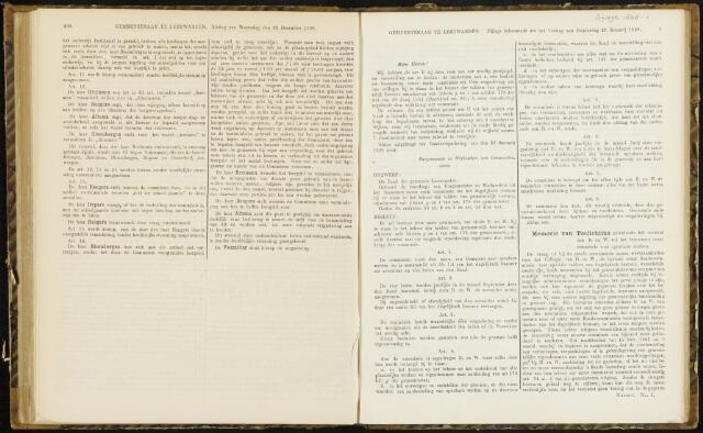 Raadsverslagen van de gemeente Leeuwarden, 1865-2007 (Bijlagen) 1868-01-01