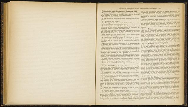 Raadsverslagen van de gemeente Leeuwarden, 1865-2007 (Notulen) 1872-08-08