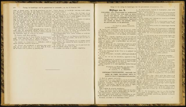 Raadsverslagen van de gemeente Leeuwarden, 1865-2007 (Bijlagen) 1885-01-01