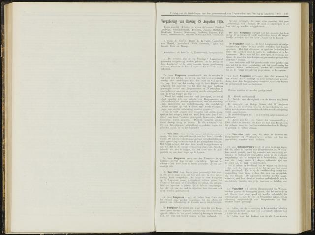 Raadsverslagen van de gemeente Leeuwarden, 1865-2007 (Notulen) 1905-08-22