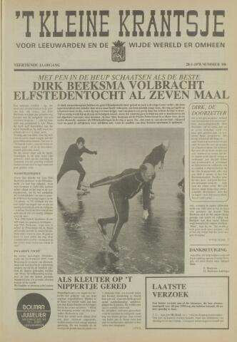 't Kleine Krantsje, 1964-1997 1978-01-28