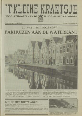 't Kleine Krantsje, 1964-1997 1983-05-14