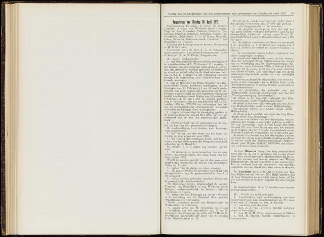 Raadsverslagen van de gemeente Leeuwarden, 1865-2007 (Notulen) 1917-04-10