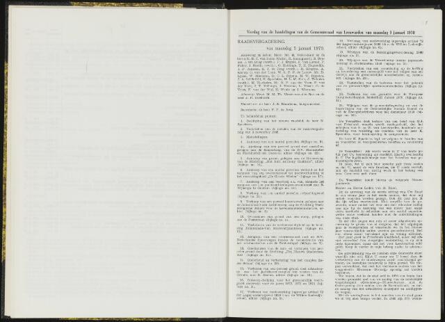 Raadsverslagen van de gemeente Leeuwarden, 1865-2007 (Notulen) 1970