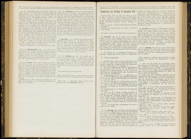 Raadsverslagen van de gemeente Leeuwarden, 1865-2007 (Notulen) 1910-09-13
