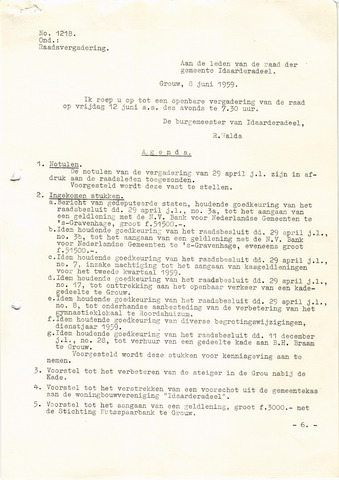 raadsverslagen Idaarderadeel 1935-1983 1959-06-12