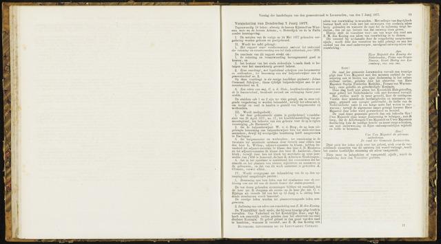 Raadsverslagen van de gemeente Leeuwarden, 1865-2007 (Notulen) 1877-06-07