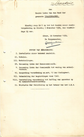 raadsverslagen Idaarderadeel 1935-1983 1939-12-05