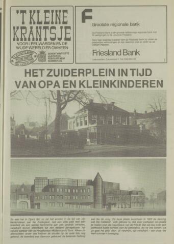 't Kleine Krantsje, 1964-1997 1990-02-01