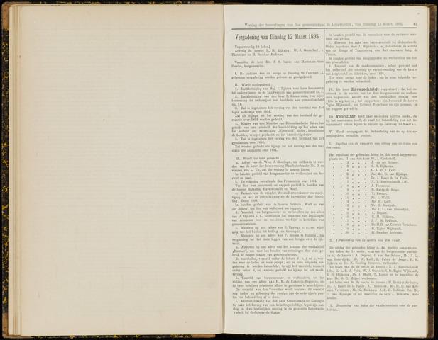 Raadsverslagen van de gemeente Leeuwarden, 1865-2007 (Notulen) 1895-03-12