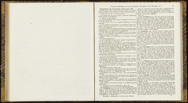 Raadsverslagen van de gemeente Leeuwarden, 1865-2007 (Notulen) 1875-11-04