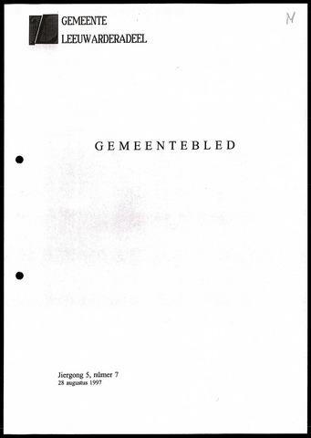Notulen van de gemeenteraad van Leeuwarderadeel 1997-08-28