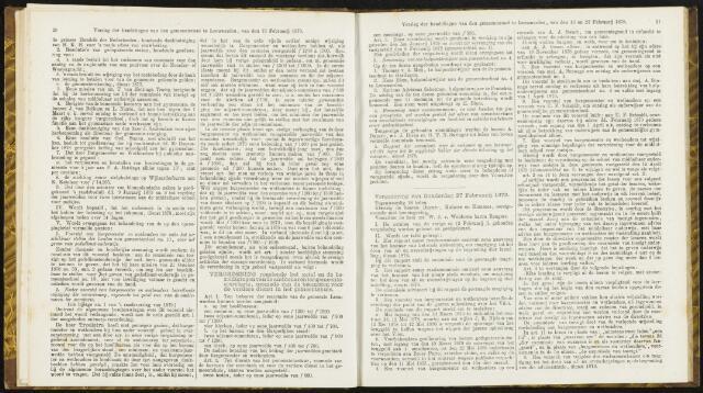 Raadsverslagen van de gemeente Leeuwarden, 1865-2007 (Notulen) 1879-02-27