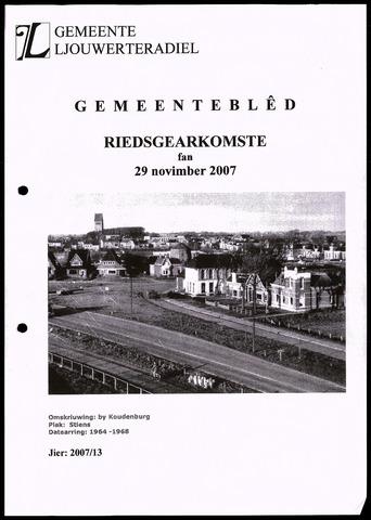 Notulen van de gemeenteraad van Leeuwarderadeel 2007-11-29