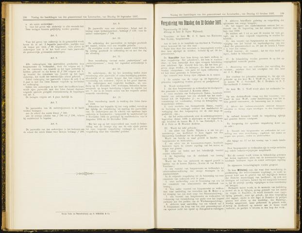 Raadsverslagen van de gemeente Leeuwarden, 1865-2007 (Notulen) 1897-10-12