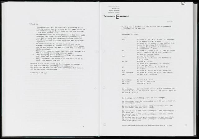 Raadsverslagen van de gemeente Leeuwarden, 1865-2007 (Notulen) 2006-05-29
