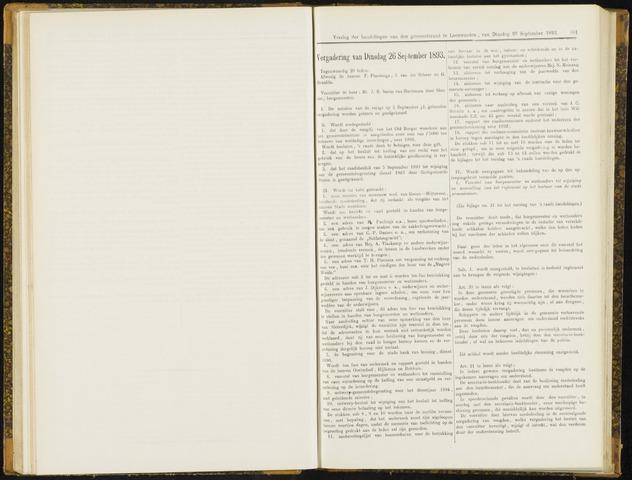 Raadsverslagen van de gemeente Leeuwarden, 1865-2007 (Notulen) 1893-09-26