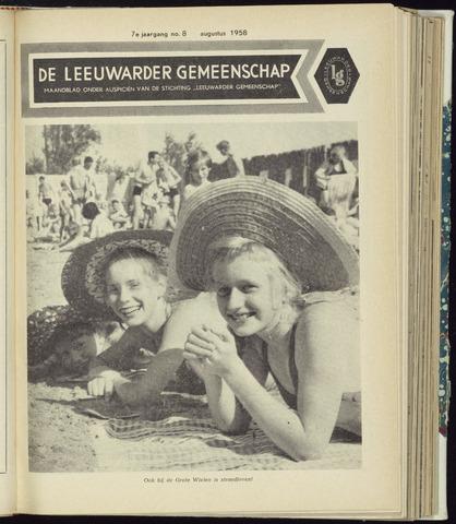Leeuwarder Gemeenschap 1958-08-01