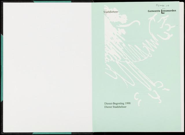 Raadsverslagen van de gemeente Leeuwarden, 1865-2007 (Bijlagen) 1997-01-01