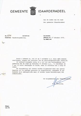 raadsverslagen Idaarderadeel 1935-1983 1979-10-31
