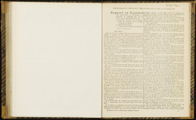 Raadsverslagen van de gemeente Leeuwarden, 1865-2007 (Bijlagen) 1869-01-01