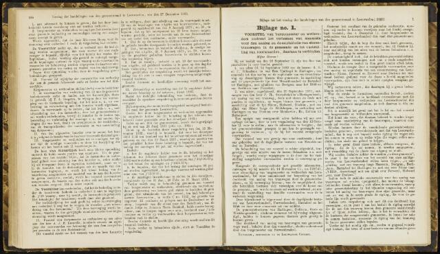 Raadsverslagen van de gemeente Leeuwarden, 1865-2007 (Bijlagen) 1883
