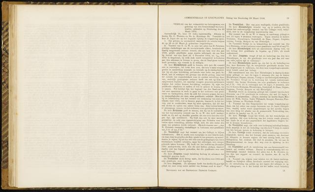 Raadsverslagen van de gemeente Leeuwarden, 1865-2007 (Notulen) 1866-03-29