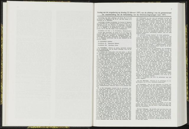 Raadsverslagen van de gemeente Leeuwarden, 1865-2007 (Notulen) 1971-02-23