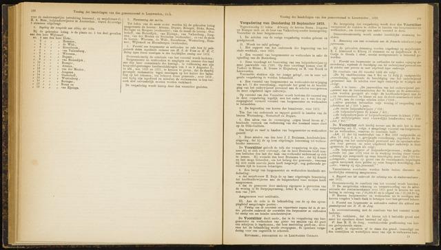 Raadsverslagen van de gemeente Leeuwarden, 1865-2007 (Notulen) 1872-09-12