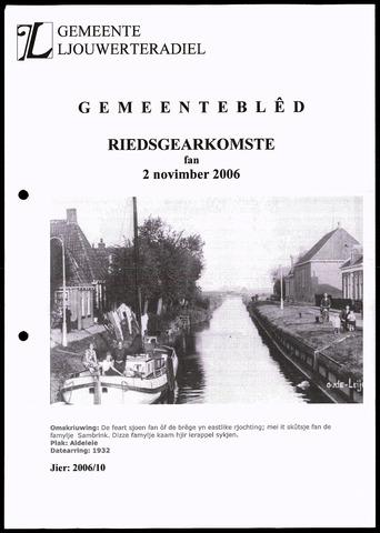 Notulen van de gemeenteraad van Leeuwarderadeel 2006-11-02