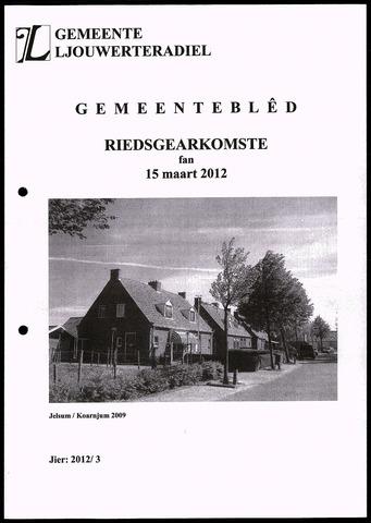 Notulen van de gemeenteraad van Leeuwarderadeel 2012-03-15