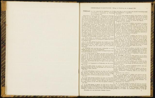 Raadsverslagen van de gemeente Leeuwarden, 1865-2007 (Notulen) 1869