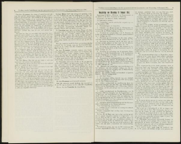 Raadsverslagen van de gemeente Leeuwarden, 1865-2007 (Notulen) 1941-02-19